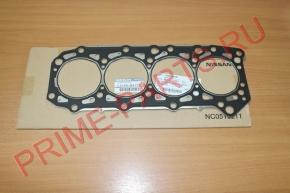 Прокладка ГБЦ Nissan Cabstar F24 (дв. ZD30) (Т-0.75) ORIGINAL