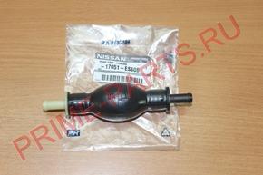 Насос ручной подкачки Nissan Cabstar F24 (дв. ZD30)  (груша) ORIGINAL